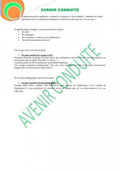 PROGRAMME DE FORMATION B.3